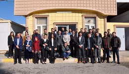 A scientific trip for students of the fourth stage to the reform institutions in Duhok
