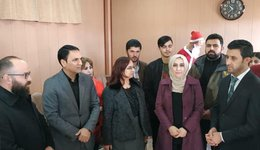 In cooperation with the Mind for Equality organization, visited displaced children