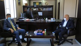 NZU receives the Director-general of Duhok Health