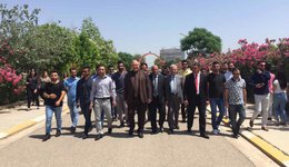 A scientific journey to the students of the Nawroz University in Arbil,capital