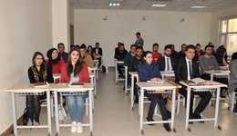 The Law Department / Sabahi holds the Student Seminar in cooperation with the Directorate of Labor and Social Security / Duhok.