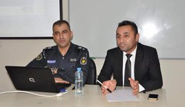 The Law Department holds a workshop with the Traffic Directorate in Dohuk governorate