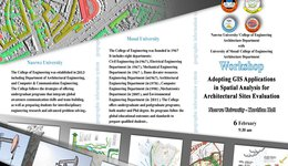 Adopting  GIS Applications in Spatial Analysis for Architectural Sites Evaluations