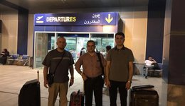A delegation from the University of Nawroz to the State of Egypt
