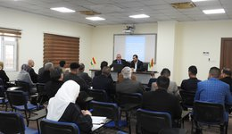 Measuring administrative awareness among directors of a number of departments in Dohuk Governorate
