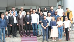 A scientific visit to the students of the Department of Tourism Sciences to the General Directorate of Tourism - Duhok -