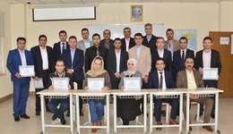 Granting certificates to participants in the course of development in the field of legal arbitration